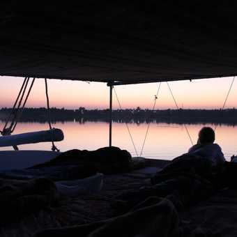 Dawn on the Nile, Felucca trip