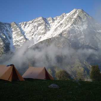 Camping perfection - Triund, HP, India 3200m