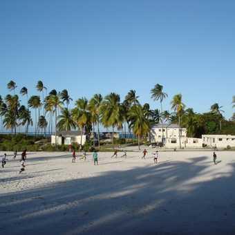 Soccer Game - Bwejuu, Zanzibar