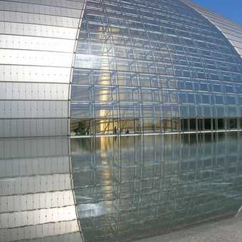The National Performing Arts building (Beijing). Wow!!