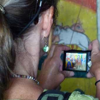 Snapping religious murals