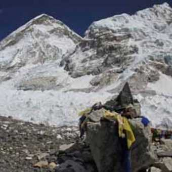 Everest Base Camp Wide Angle