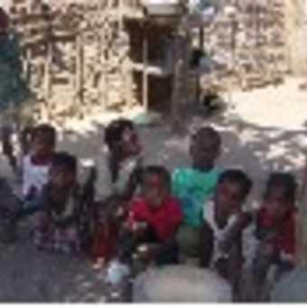 local village children