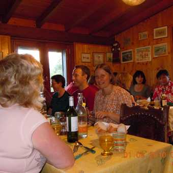 All the trekkers in Chalet Savoy Dining Room (1)