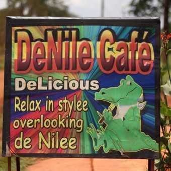 Cafe at Bujagali Falls