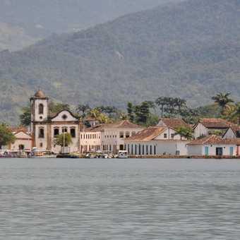 Paraty Harbour Scene