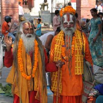 People in Kathmandu