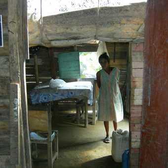 Maria's house in the Sierra Maestra