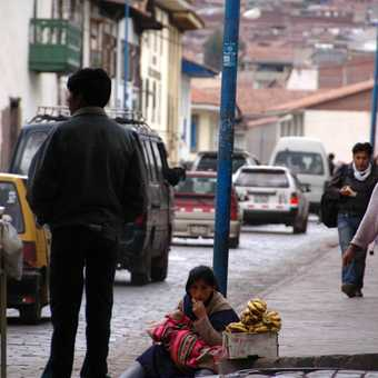 Street seller
