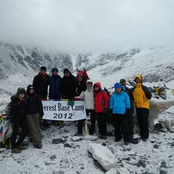 Our group...we all made it..even us oldies