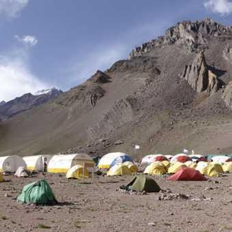 Confluencia Camp Panorama 3400m