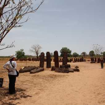 Wassu stone circle, Gambia