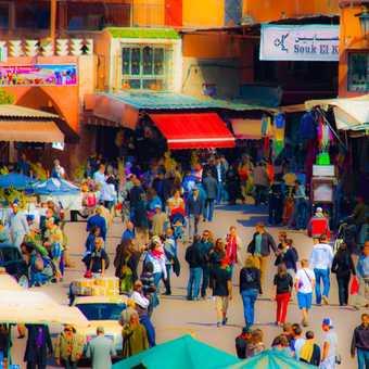 Souqs of Marrakech - OJ bar