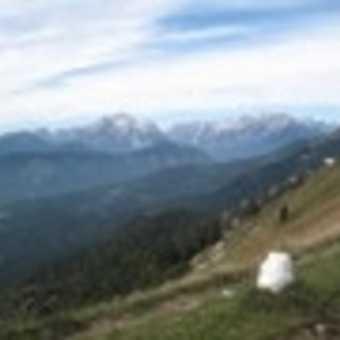 trekking along Gorica border ridge