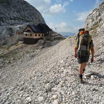 Day 3 - Arriving at Koca na Dolcu Hut