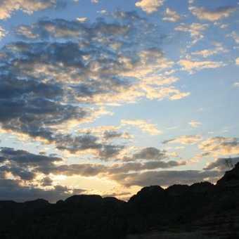 Sunset at Isalo