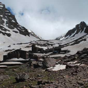Base camp of Jekel Toubkal