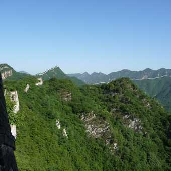 A sweeping view of the Great Wall