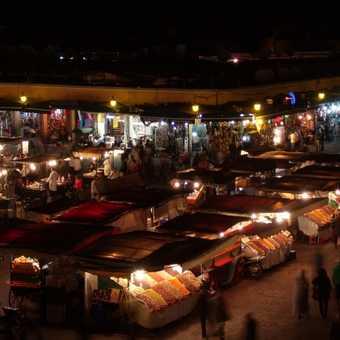 Jamaa el fna night market