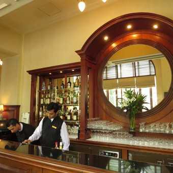 Bar at The Strand Rangoon