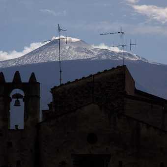 Mt Etna from Randazzo
