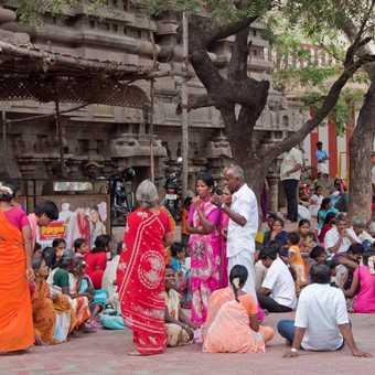 Gathering for Shiva festival