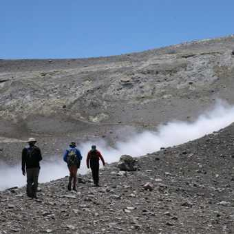 Group hoping Etna doesn't errupt just at the moment