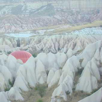 balloon under cappadocia