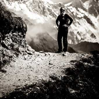Mt Everest and Lhotse.