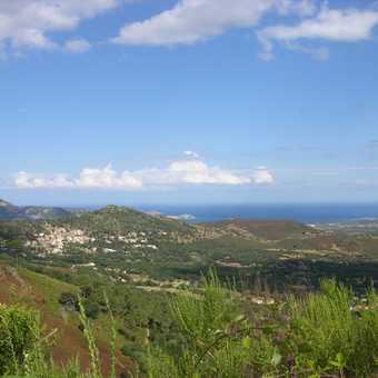 View towards Calenzana