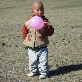 BOY WITH A BALLOON
