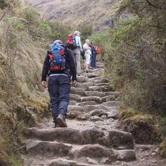 Day 5 trekking to WarmiwaNusca