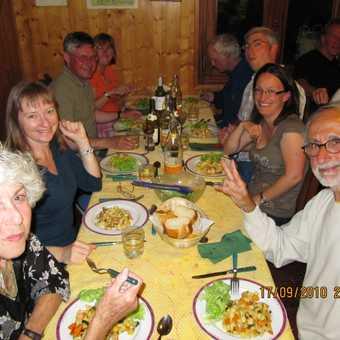 Chalet Savoy dining room