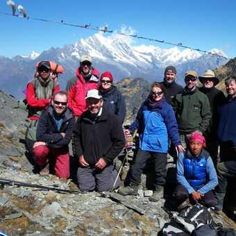 13/4 at Zatrwa La (4,500m) before descent toward Luka