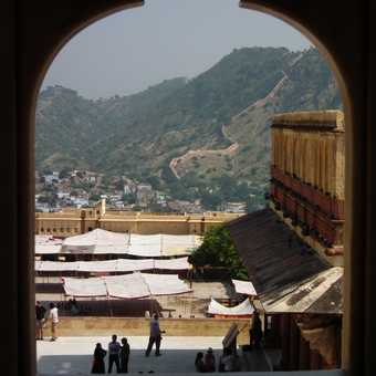 View from Amber Palace