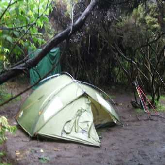 maweka camp 3200m .nearly finished