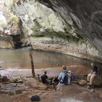 Mau Mau caves in Mount Kenya National Park