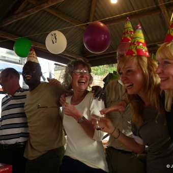 Party Time - Exodus 40th Birthday - which occurred during our trip