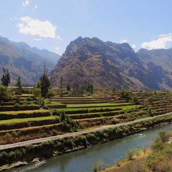 End of the trek - Ollantaytambo