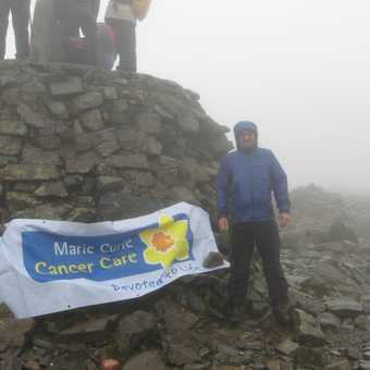 Summit of Ben Nevis (3rd time) August 2008