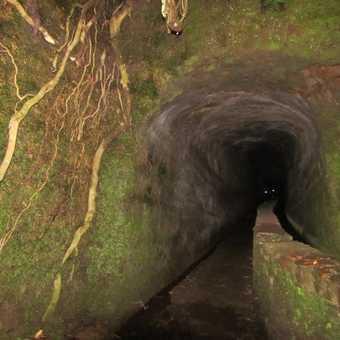 Tunnel Caldeirao Verde Walk