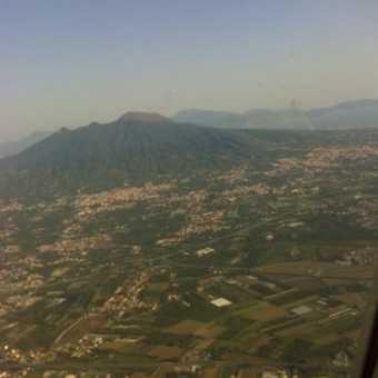 Vesuvius from above