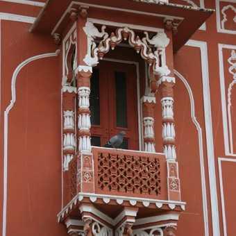 Oriel window, City Palace Jaipur