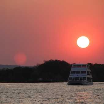 Sunset over the Zambezi