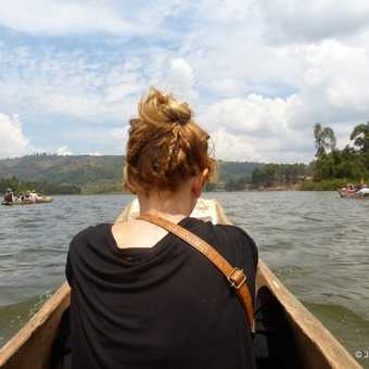 Travelling on banana boats on the Nile to view the abundant birdlife and see the source of the Nile