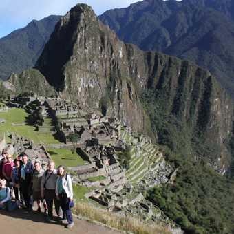Group shot at Machu Picchu
