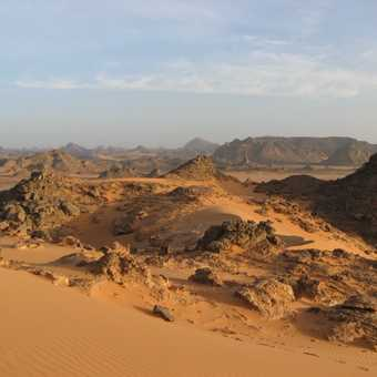 Finger Rock, Adadh, Awiss region of Jebel Acacus
