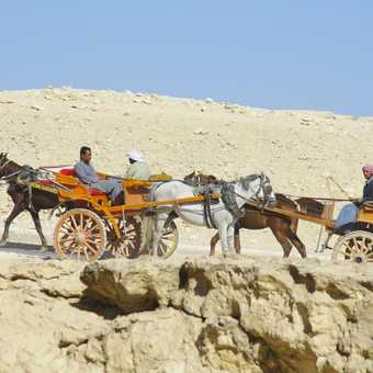 Locals at the pyramids