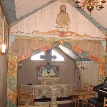 inside Oset Church