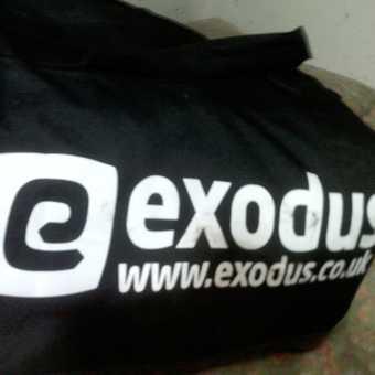Exodus Kitbag- no need to ruin your own bag while trekking
